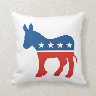 usa democratic party donkey pillow united states