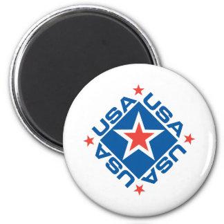 USA Diamon Fridge Magnets