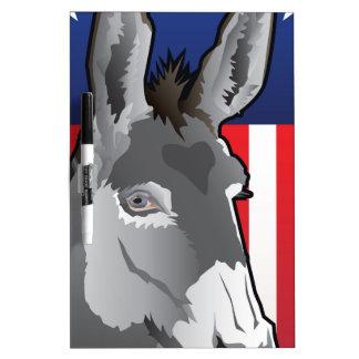 USA Donkey, Democrat Pride Dry Erase Board