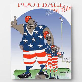 USA dream team, tony fernandes Plaque