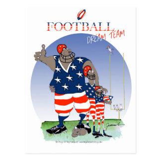 USA dream team, tony fernandes Postcard