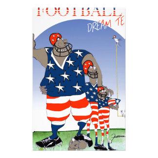 USA dream team, tony fernandes Stationery