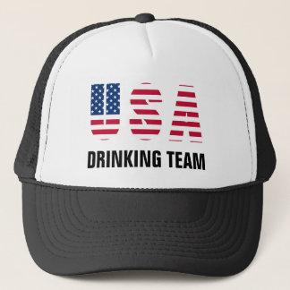 USA Drinking Team Trucker Hat