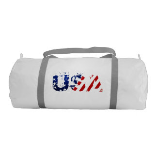 USA Duffle Gym Bag