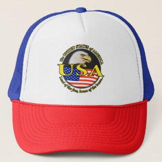 USA EAGLE AND FLAG CAP