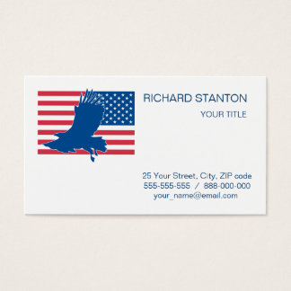 USA eagle Business Card