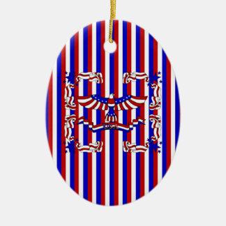 USA Eagle Ornament