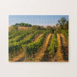 USA, Eastern Washington, Walla Walla Vineyards Jigsaw Puzzle