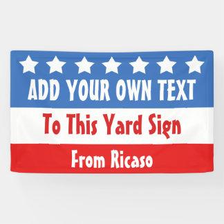 USA Election Customizable Banner
