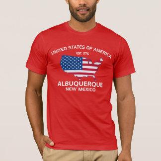 USA EST. 1776 ALBUQUERQUE New Mexico T-Shirt