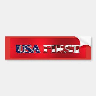 USA FIRST BUMPER STICKER