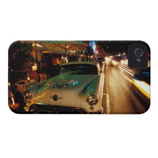 USA, FL, Miami, South Beach at night. 2 Blackberry Case