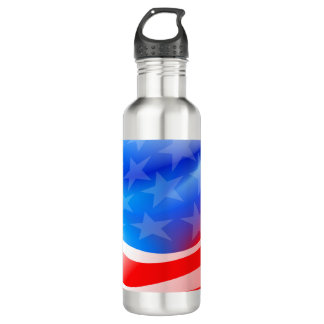 USA flag 710 Ml Water Bottle