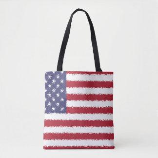 USA Flag American Patriotic Tote Bag
