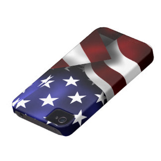 USA Flag Blackberry Bold/Curve Case-Mate Case Case-Mate iPhone 4 Cases