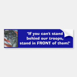 USA-Flag, Bumper Sticker
