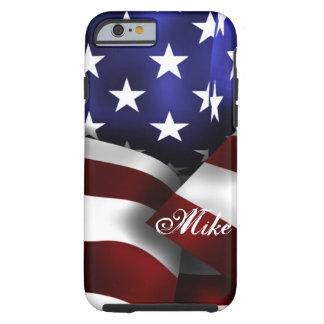 USA Flag Tough iPhone 6 Case