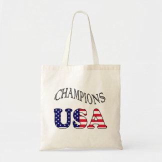 USA Flag  champions bag