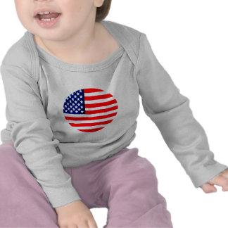 USA Flag Circle Tdhe MUSEUM Zazzle Shirts