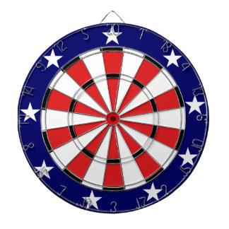 USA Flag colors Dartboard