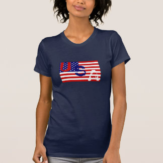 USA flag cool t-shirt design