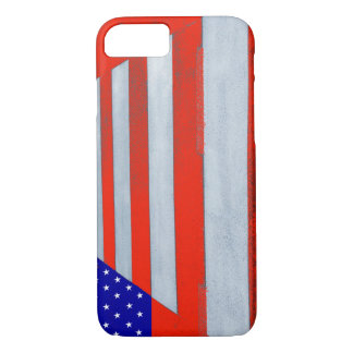 USA Flag Crosswalk iPhone 7 Phone Case