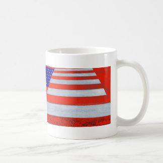 USA Flag Crosswalk Mug