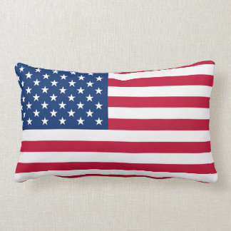 USA Flag Throw Pillows