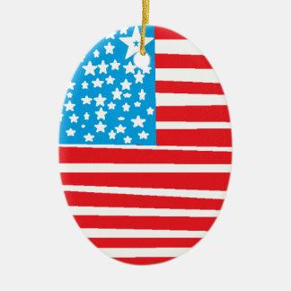 USA flag design pic.gif Ornaments