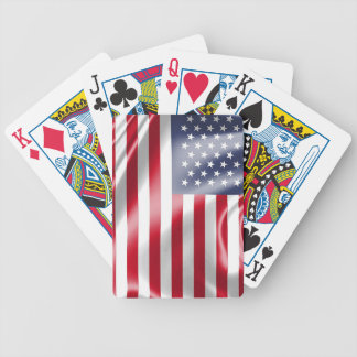 USA Flag for Poker Playing Cards