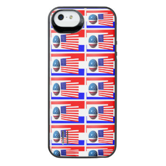 usa flag  iPhone 5/5s Power Gallery™ Battery Case