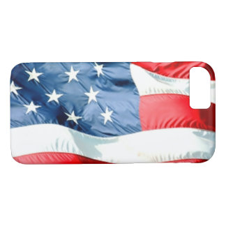USA flag iPhone 7 Case