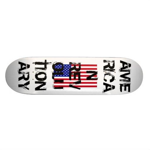 USA-Flag-Large, AMERICAN REVOLUTIONARY Skate Board