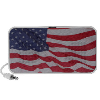 usa flag - long may it wave iPod speaker