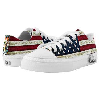 USA flag Low Tops