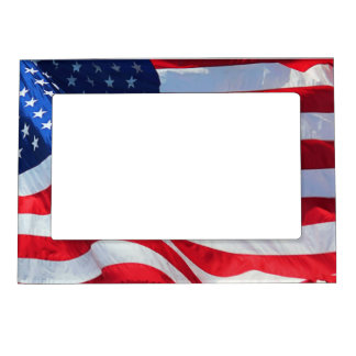 USA-FLAG MAGNETIC PICTURE FRAME