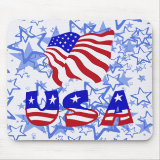 USA & FLAG MOUSEPAD