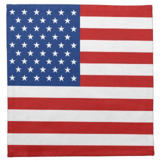 USA Flag Napkin