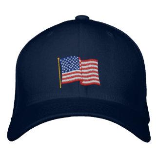 USA Flag NBG Embroidered Hat