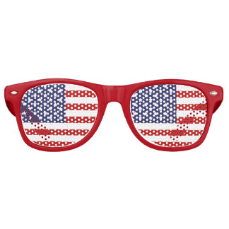 USA Flag, Patriotic Retro Sunglasses
