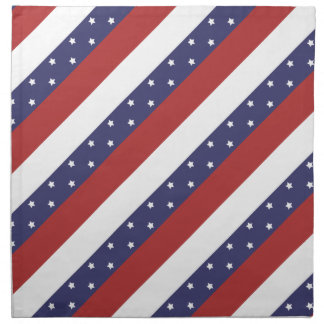 USA Flag Pattern Napkin