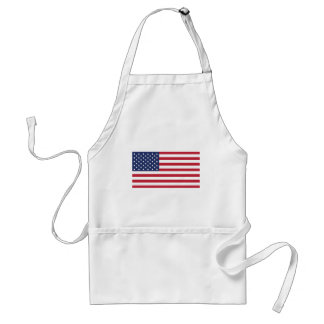 USA Flag Pattern. Perfect Patriotic Gift. American Aprons