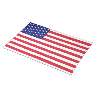 USA Flag Placemats Made in America