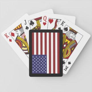 USA Flag Playing Cards