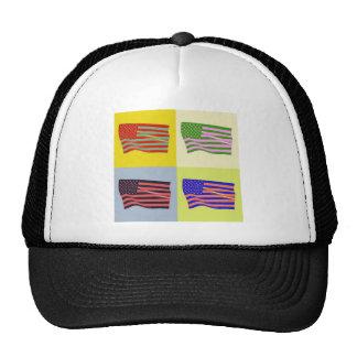 USA Flag - Pop Cap