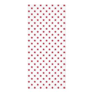 USA Flag Red Stars on White Throw Pillows Rack Cards