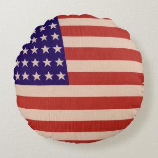 USA flag Round Cushion