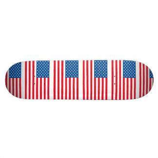 USA Flag stars and stripes 18.1 Cm Old School Skateboard Deck