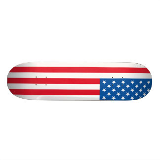USA Flag stars and stripes 20 Cm Skateboard Deck