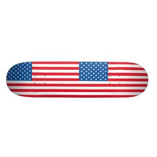 USA Flag stars and stripes 21.6 Cm Skateboard Deck